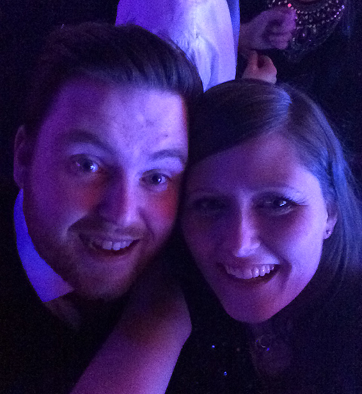 Ben and Janna - Christmas Night Out