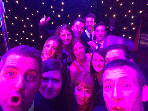 Selfie- Christmas Night Out
