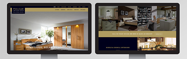 Riddle and Coghill new website design