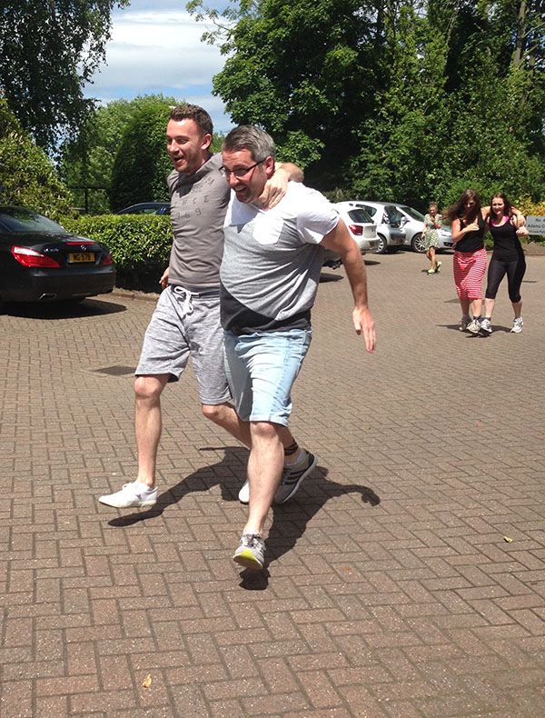 Three-legged Sports Day