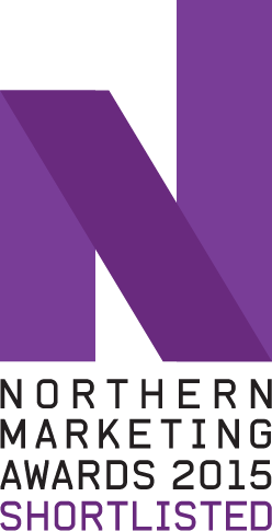 Northern Marketing Award Shortlisted Badge